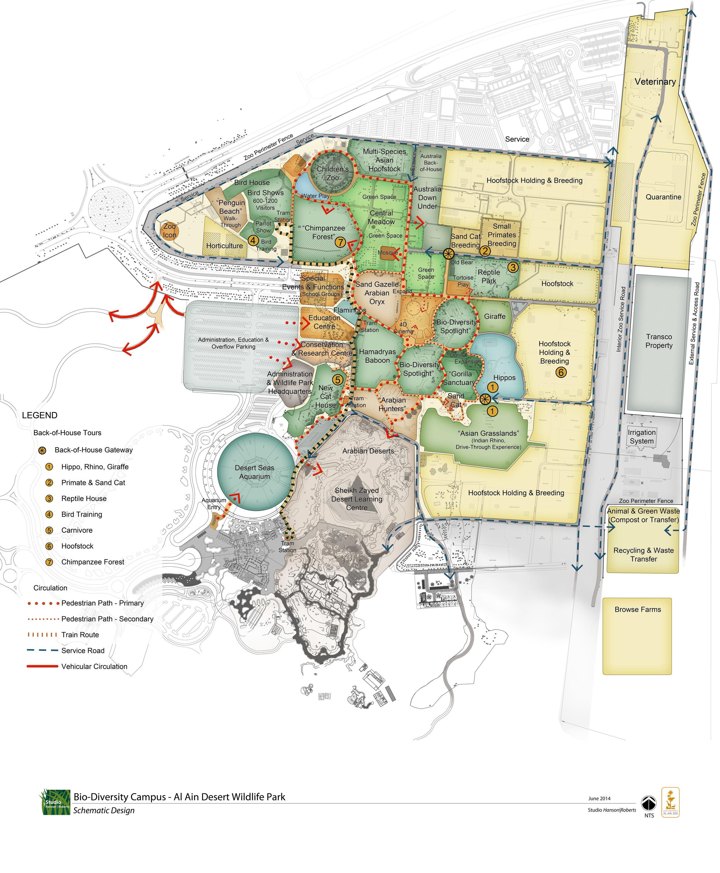 "Al Ain ""Biodiversity Campus"" Master Plan, 2014"