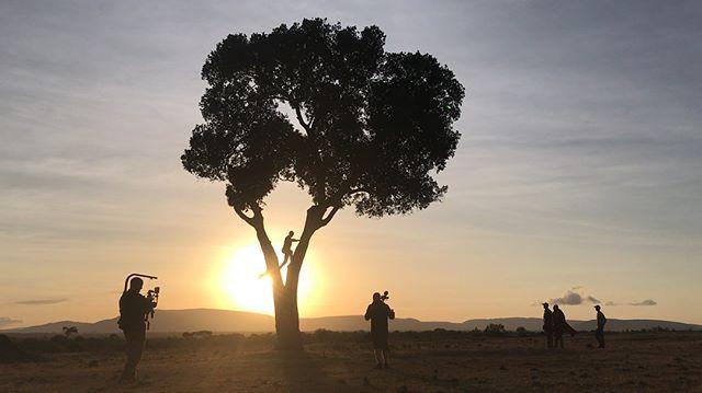 Behind the scenes on #Mabingwa w/ Director, @mattmays DP, @joesailer Drone & camera, @chroma_productions EP, @cmfcomics Repping @ballstatetcom #documentary