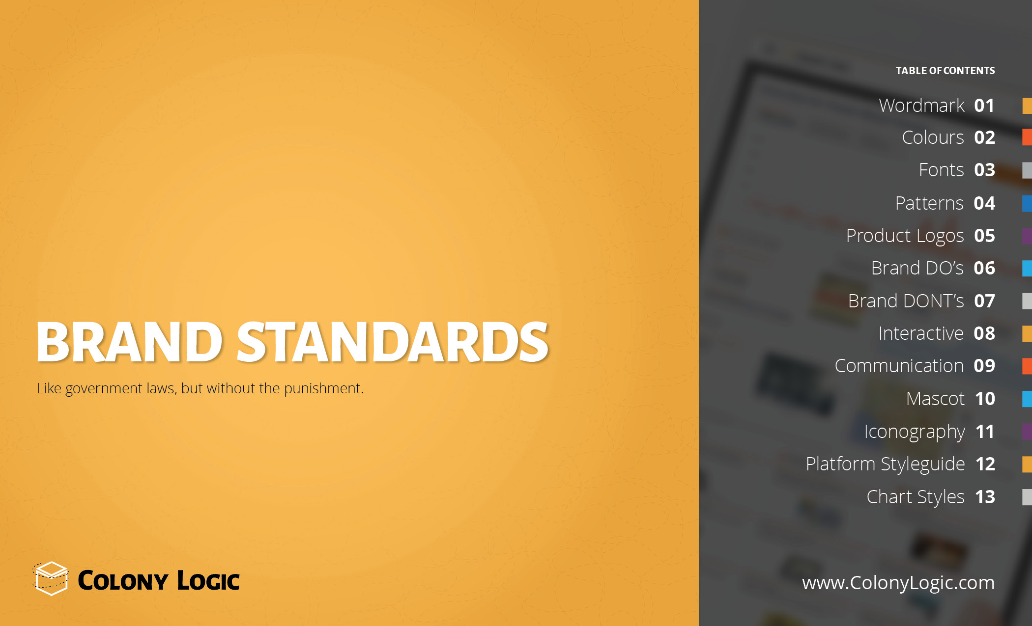 COLONY LOGIC BRAND GUIDELINES