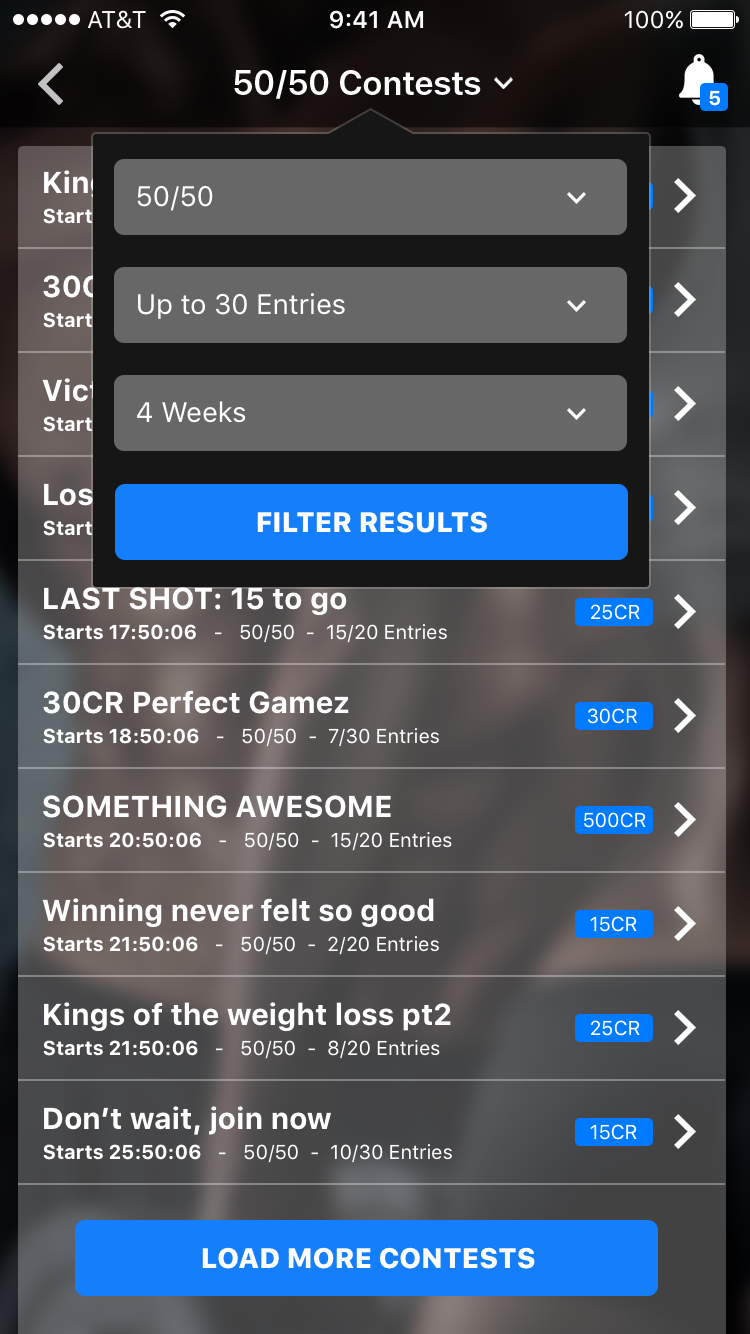 Qonquer-iOS-08c.Contests-Join Results with Filter.png