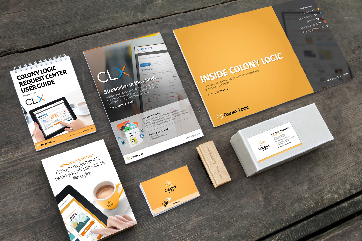 BRANDING DESIGN   From logo design, style guidelines, websites, to platforms, email blasts and bees   V  iew Work Examples >
