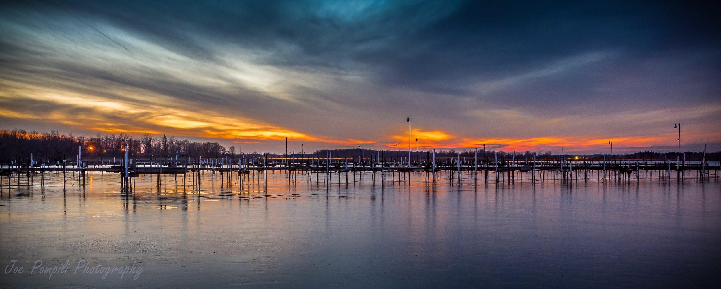 Braddock Bay Boat Docks (#10G) Panoramic