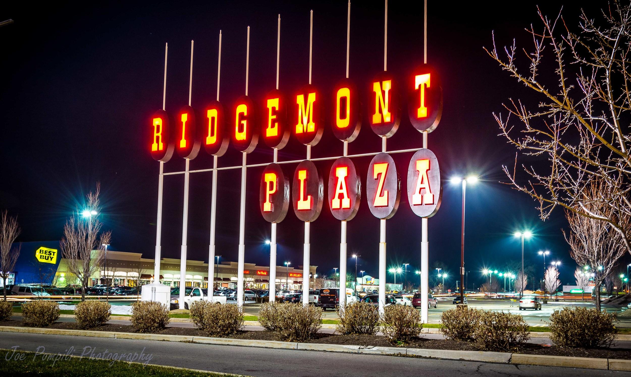 Old Ridgemont Plaza Sign (#12G)