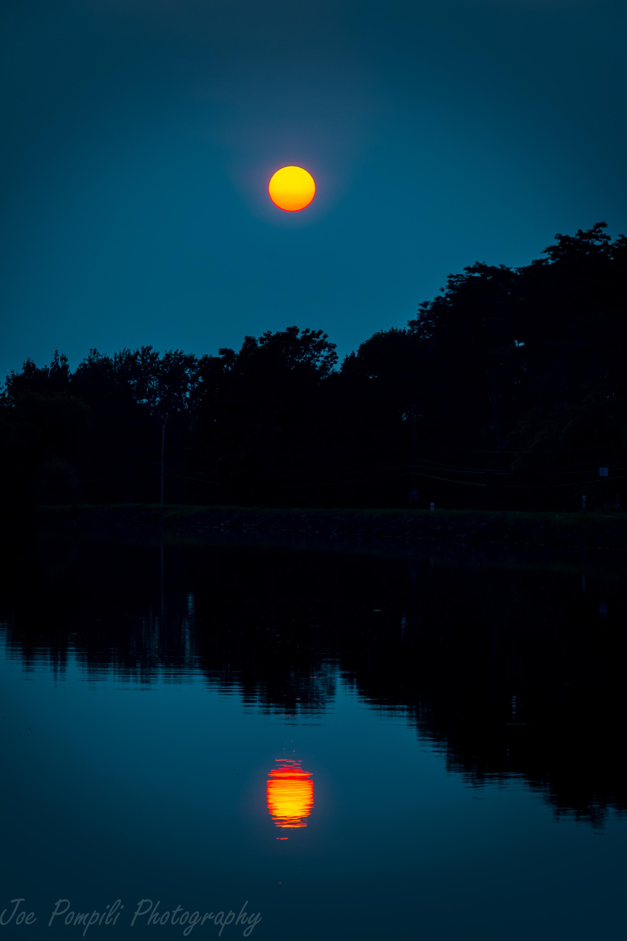 Erie Canal Sunset #13EC