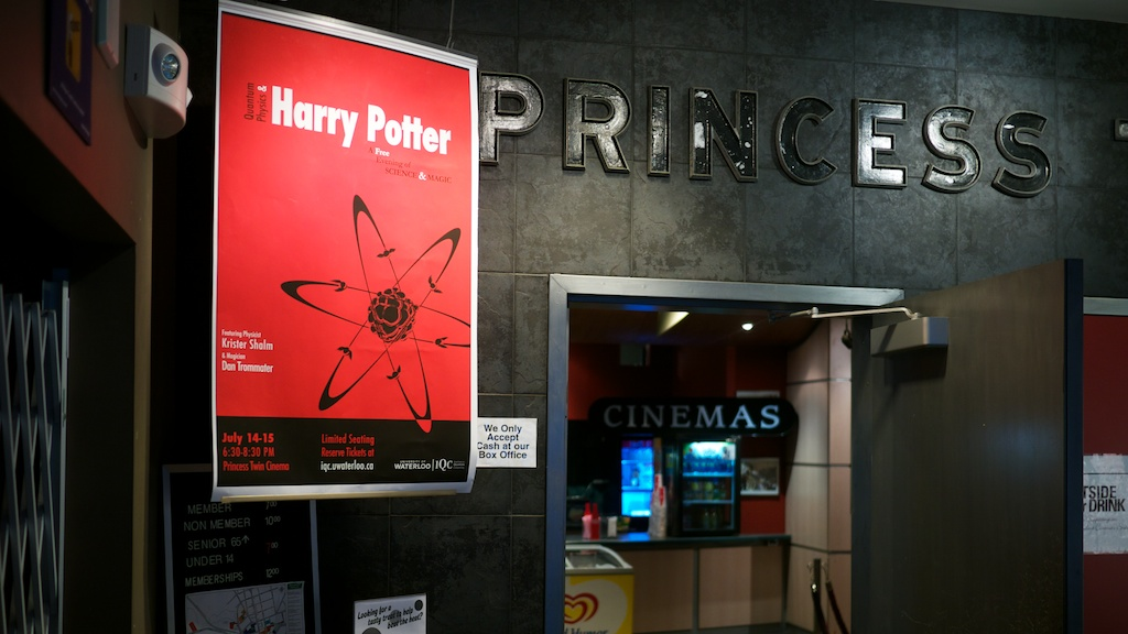 Quantum Physics and Harry Potter at the Princess Twin Cinema in Waterloo