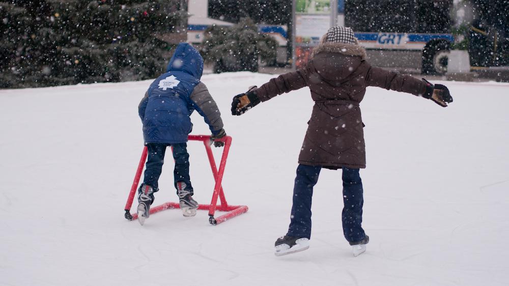 Kids Skating