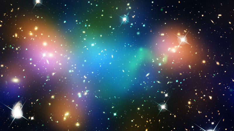 Dark Matter Evidence from Nasa