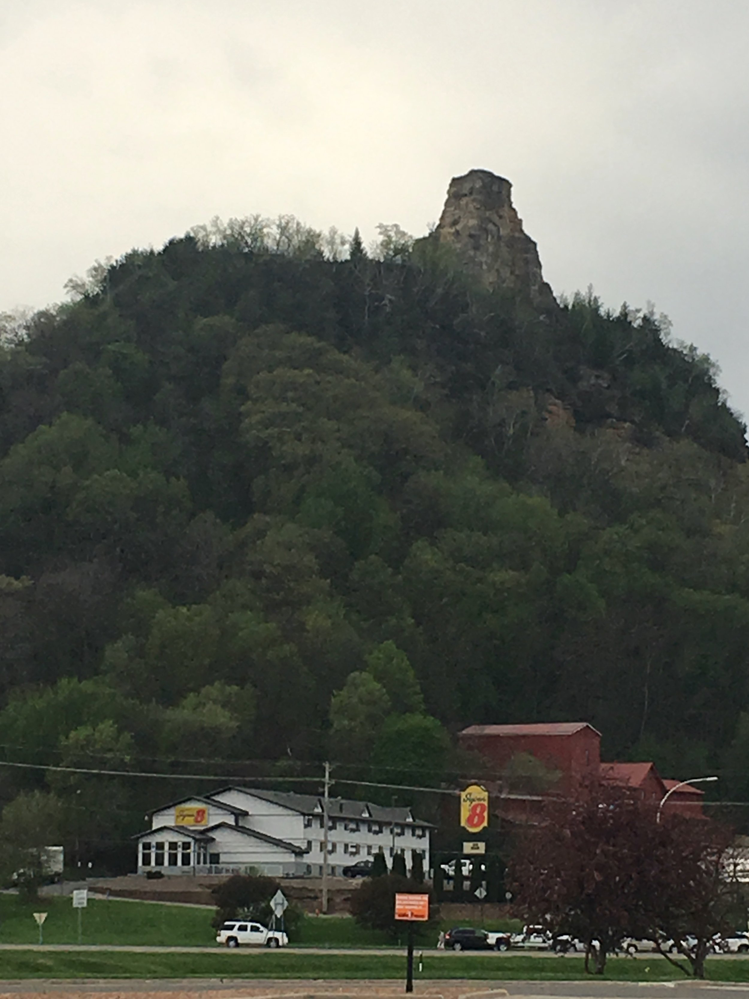 Sugar Loaf is likely the most photographed thing in Winona, Minnesota.