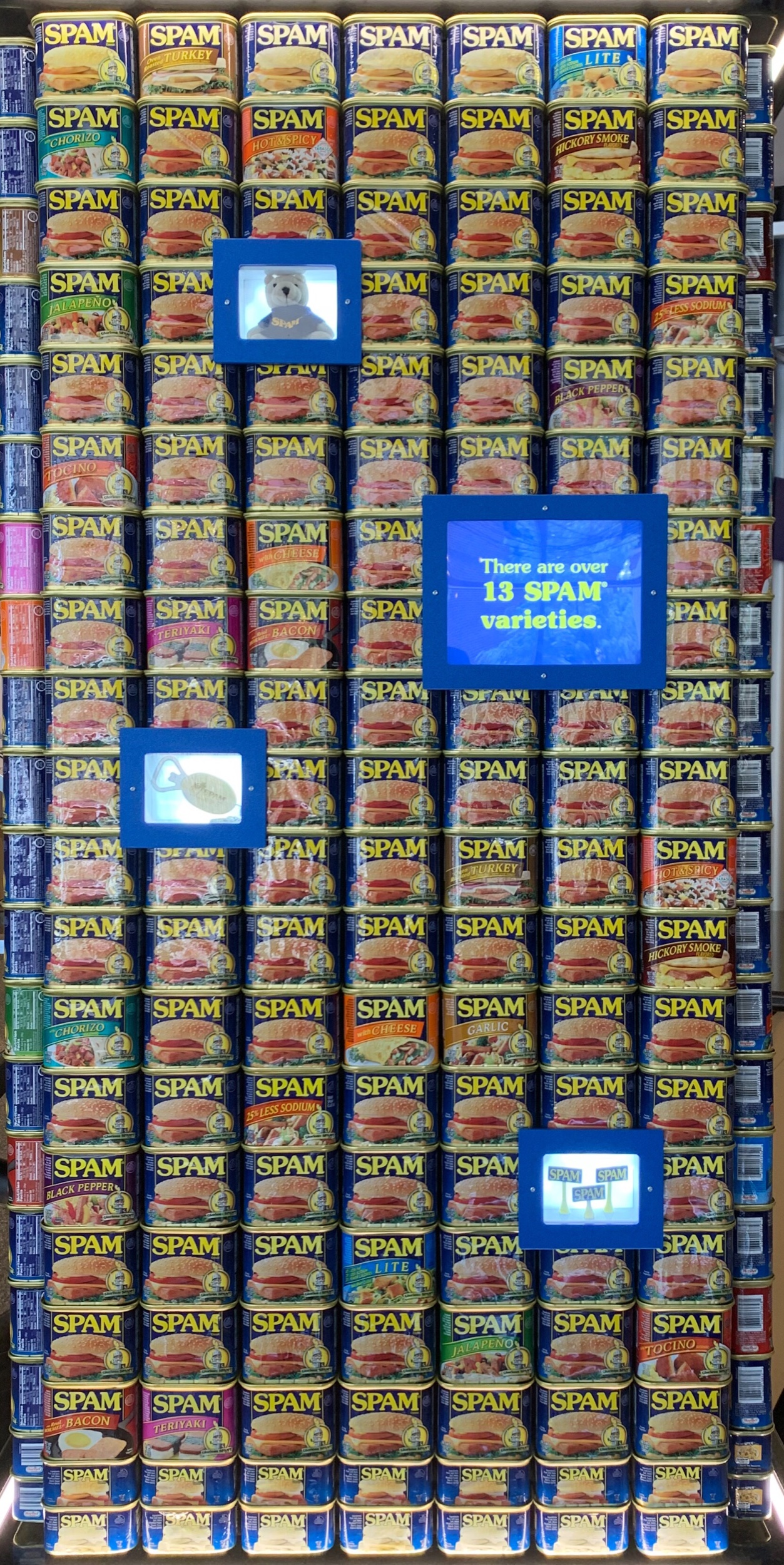 Seen at the SPAM Museum in Austin, Minnesota.