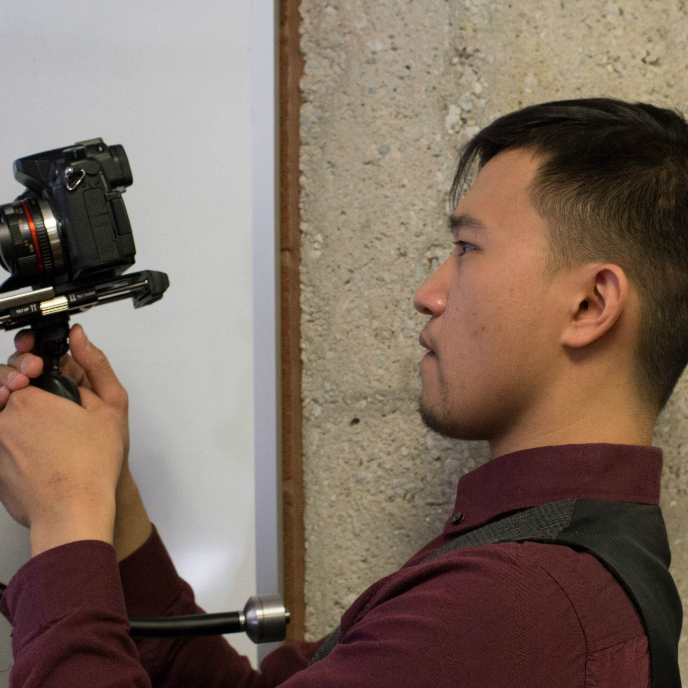 Aaron Daniel Films - About Me Photo - second year