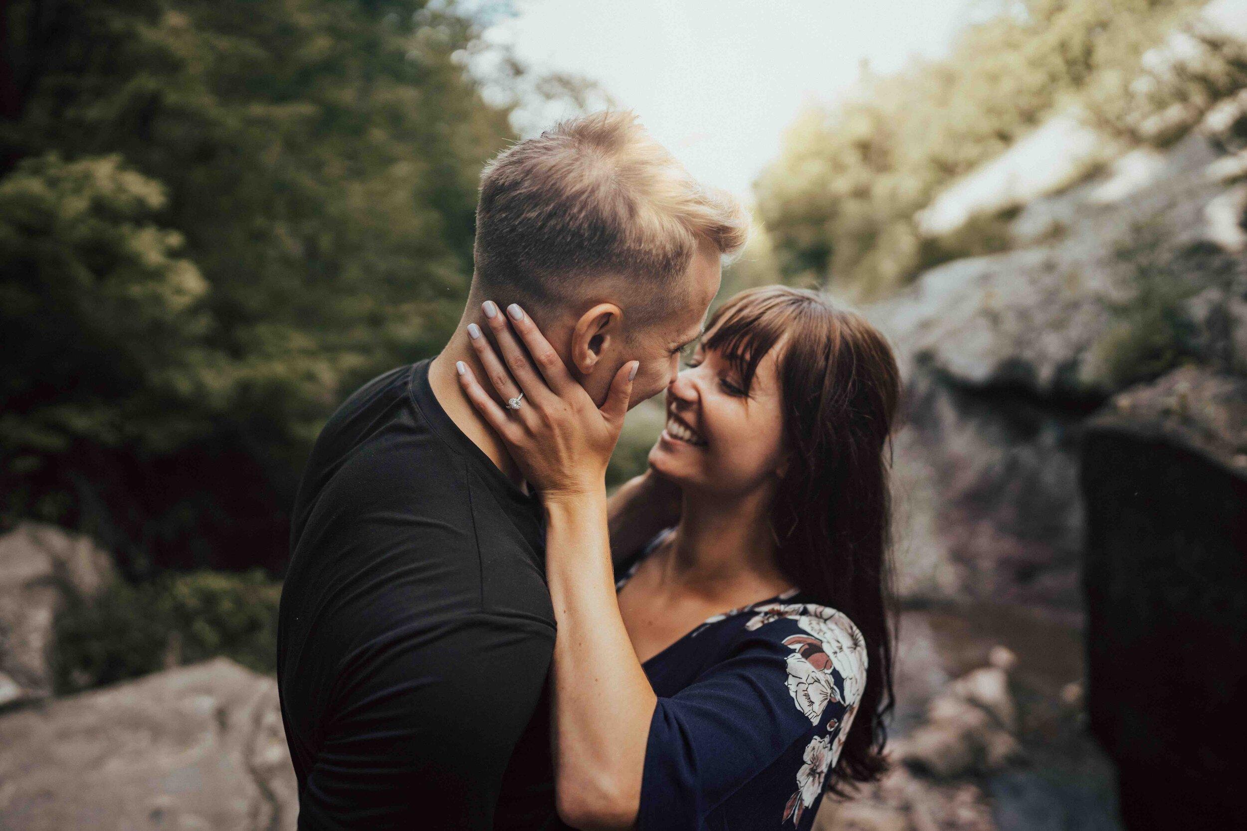 Surprise Proposal At Chedoke Falls