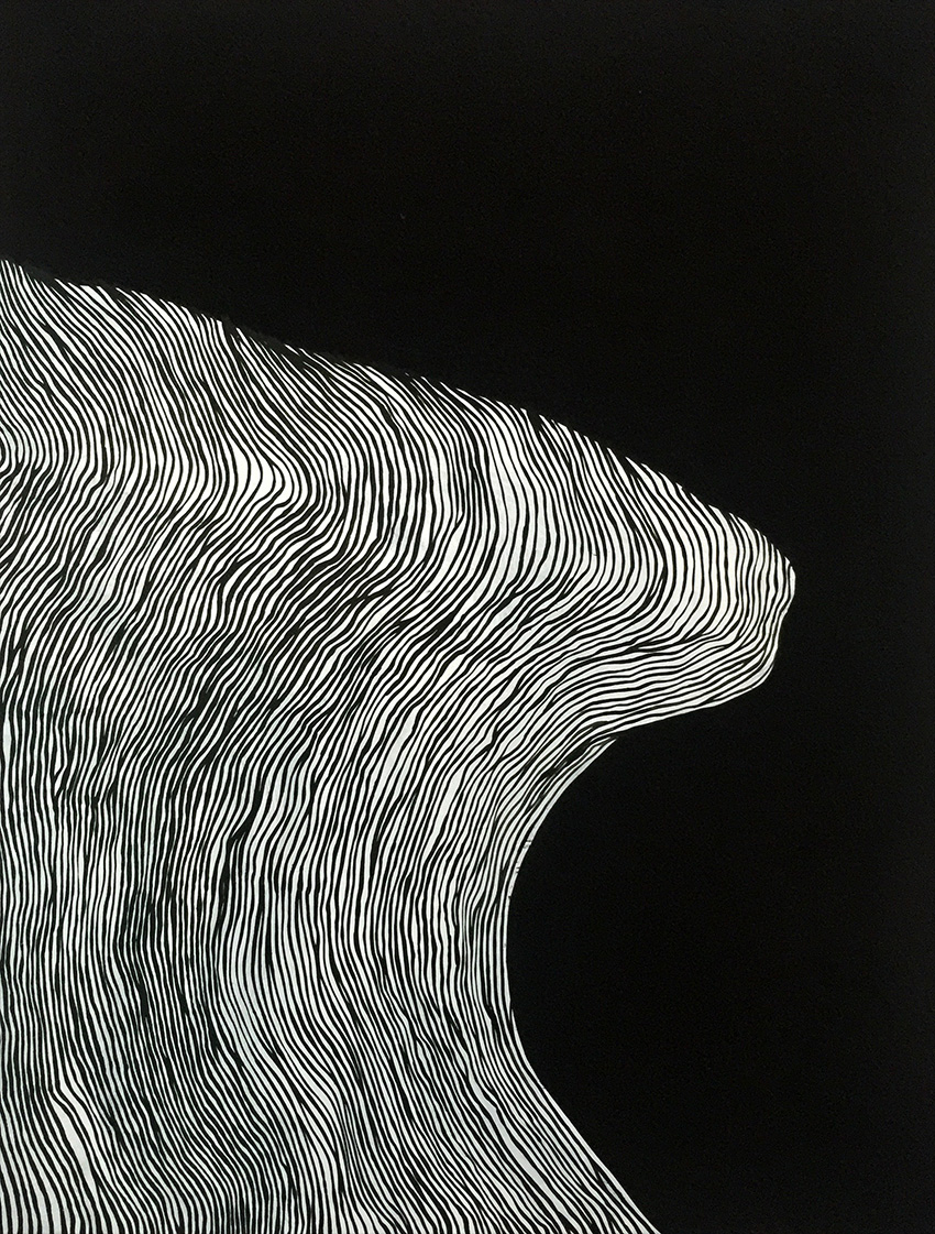 'SOLID SWELL' - 90cm x 120cm Acrylic on Canvas