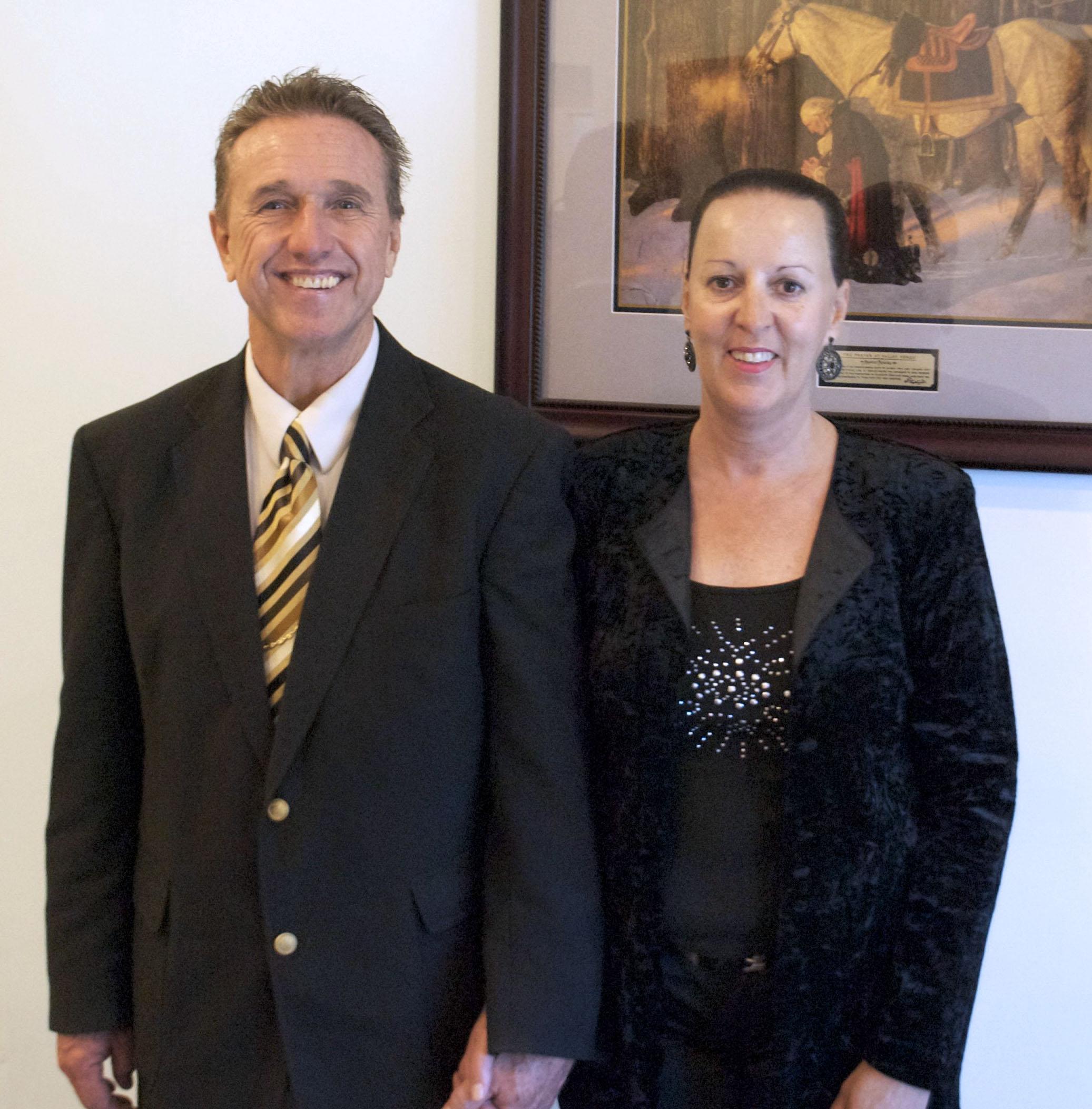 Elder Skip Voss and wife Suzanne