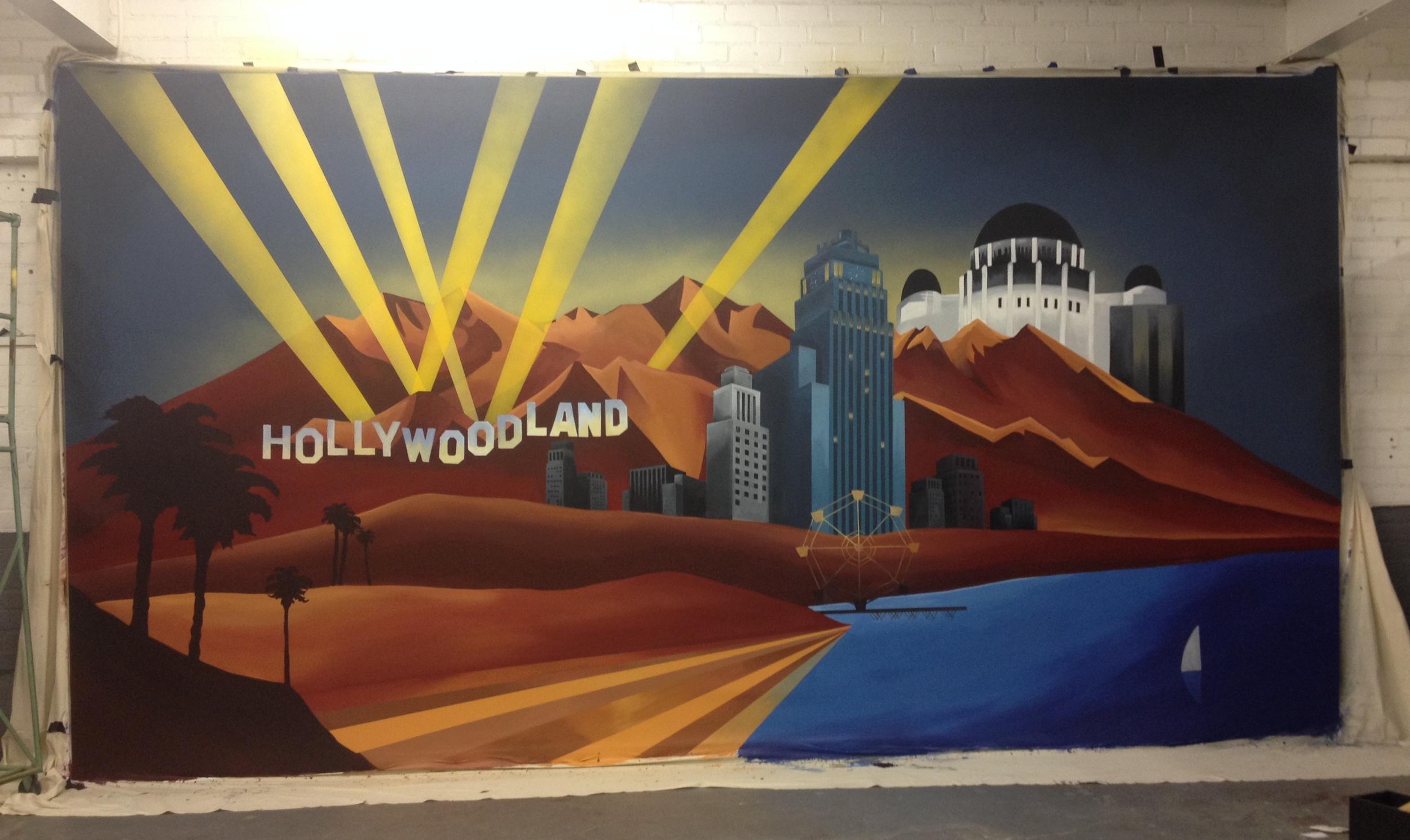 """Hollywoodland"" Schlitz Bouts"