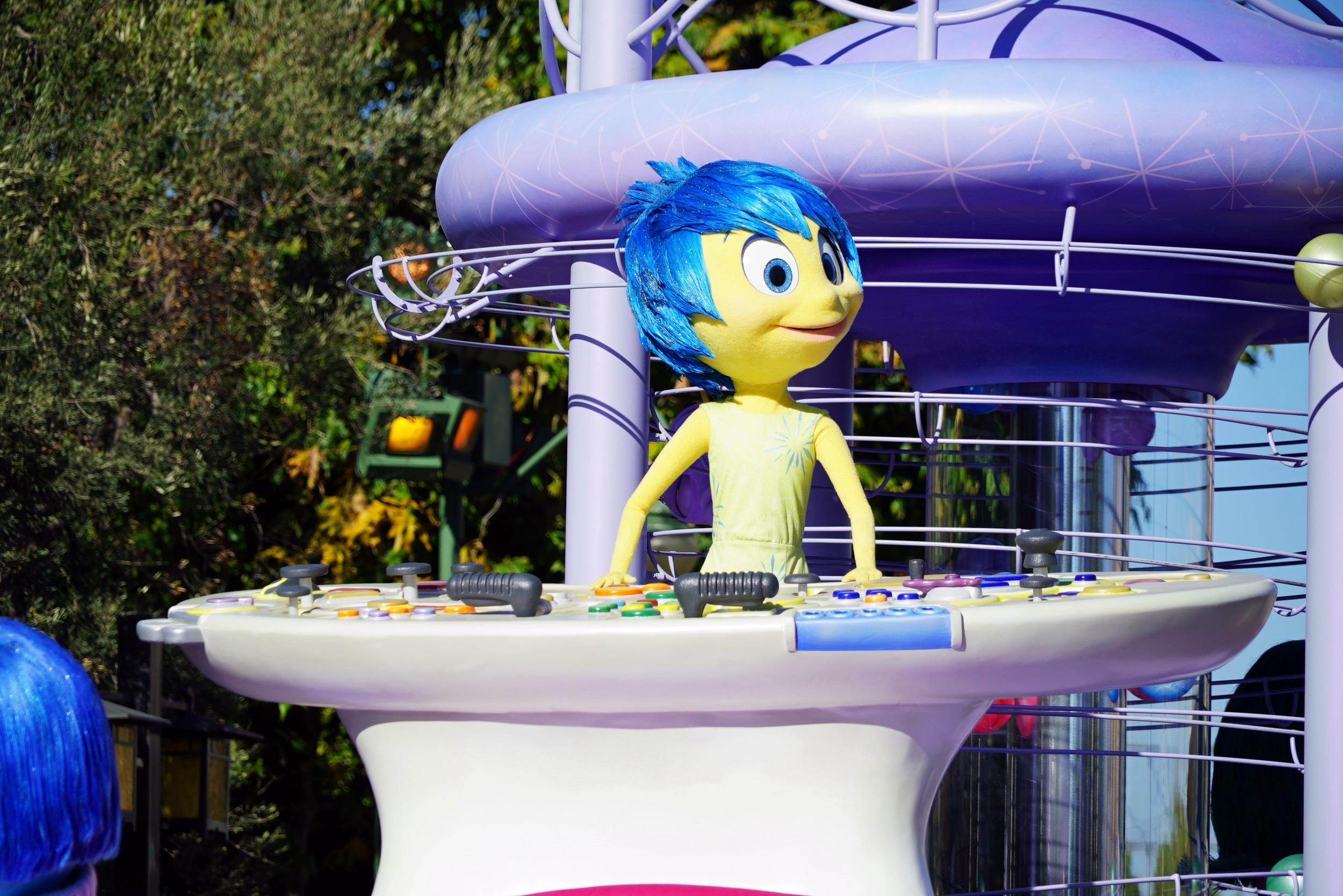 """Disneyland's """"Inside Out"""" Float"""