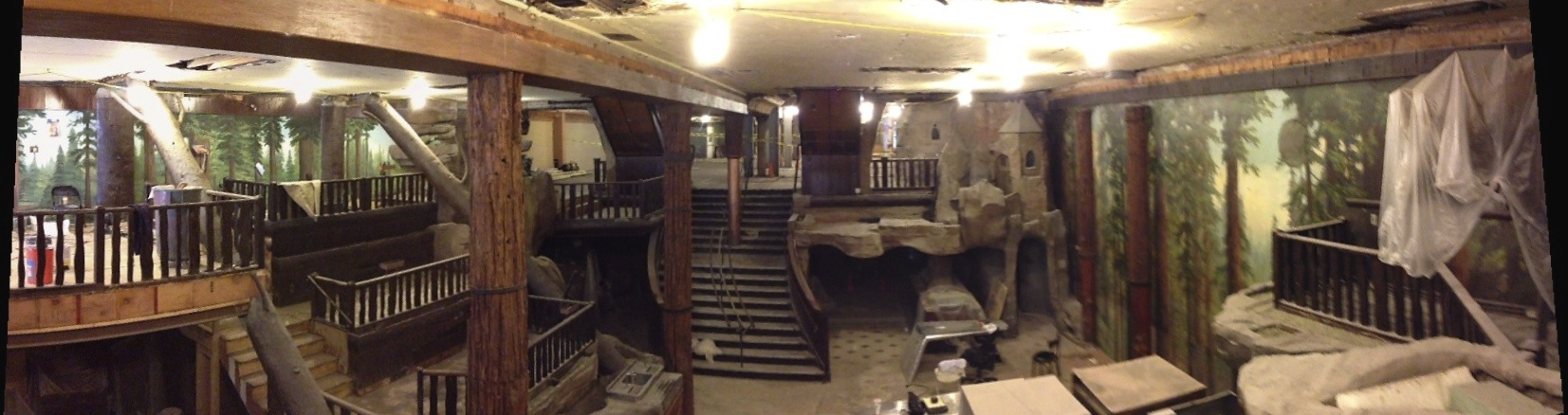 Clifton's Cafeteria Renovation