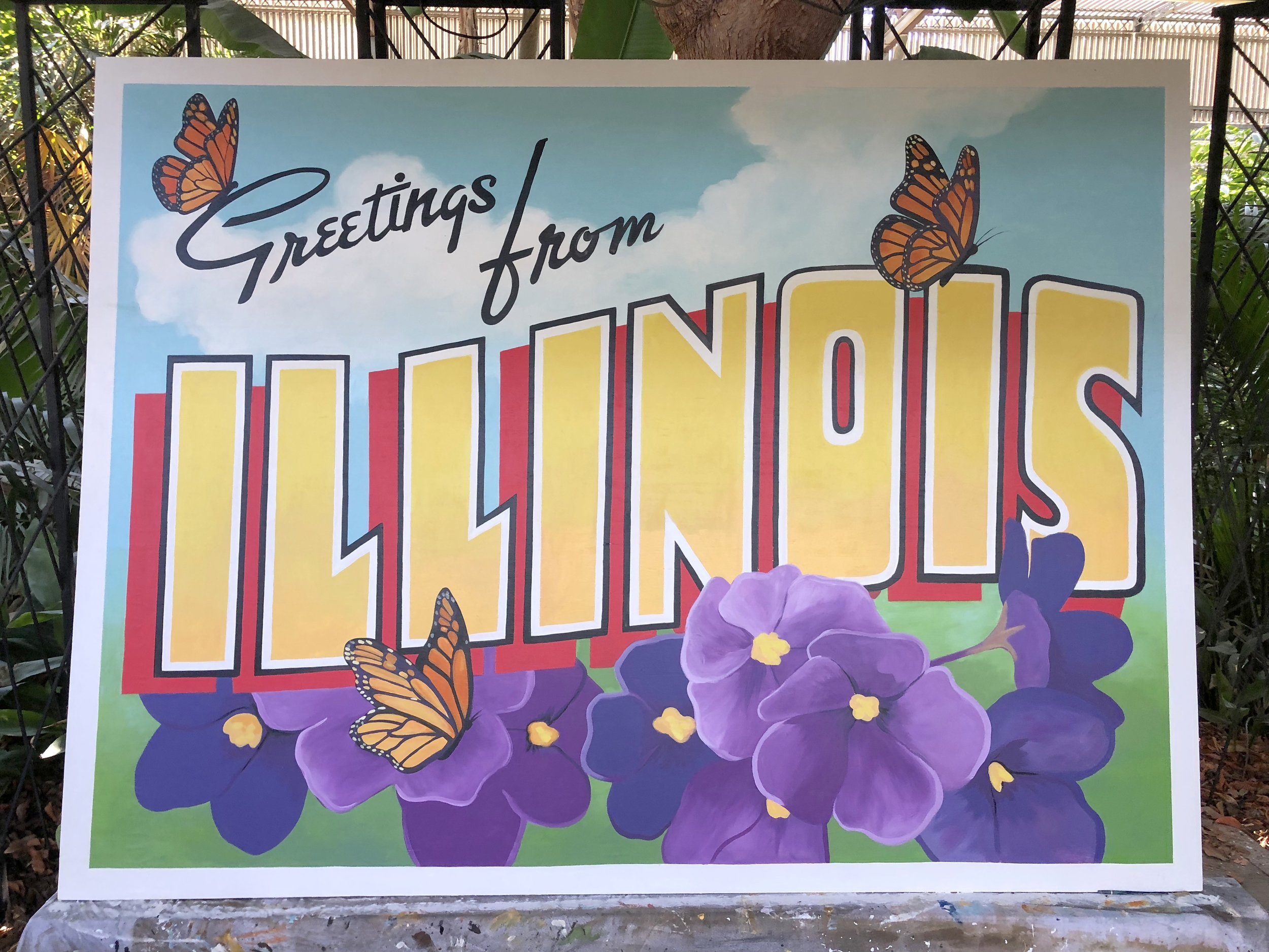 Postcard from Illinois