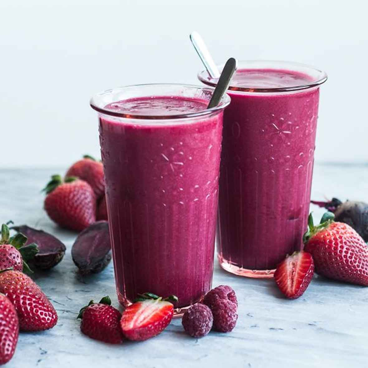 Yummy Berry Bananza Smoothie