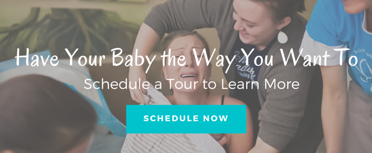 schedule a birth center tour