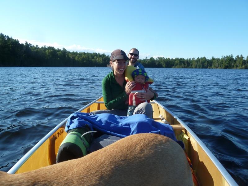 Anjali Madeira canoeing