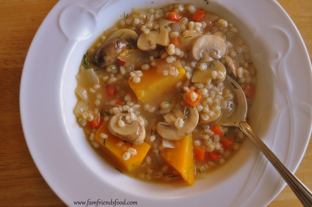 Chicken Barley Soup For Lactation