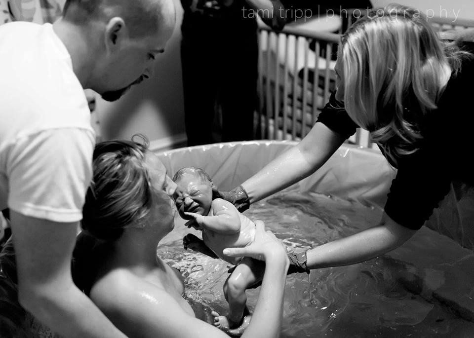 Health Foundations Birth Center Water Birth Baby.jpg
