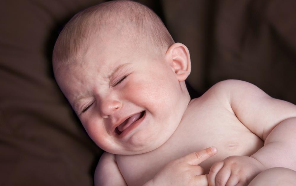 Infant With Gerd (Acid Reflux)