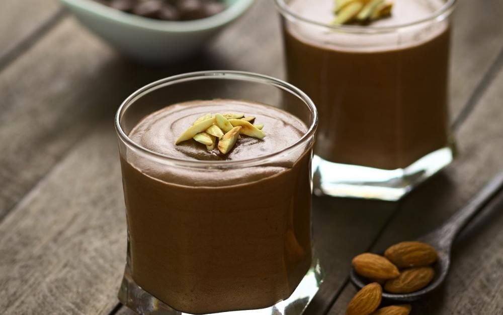 Avocado Chocolate Mousse Desert
