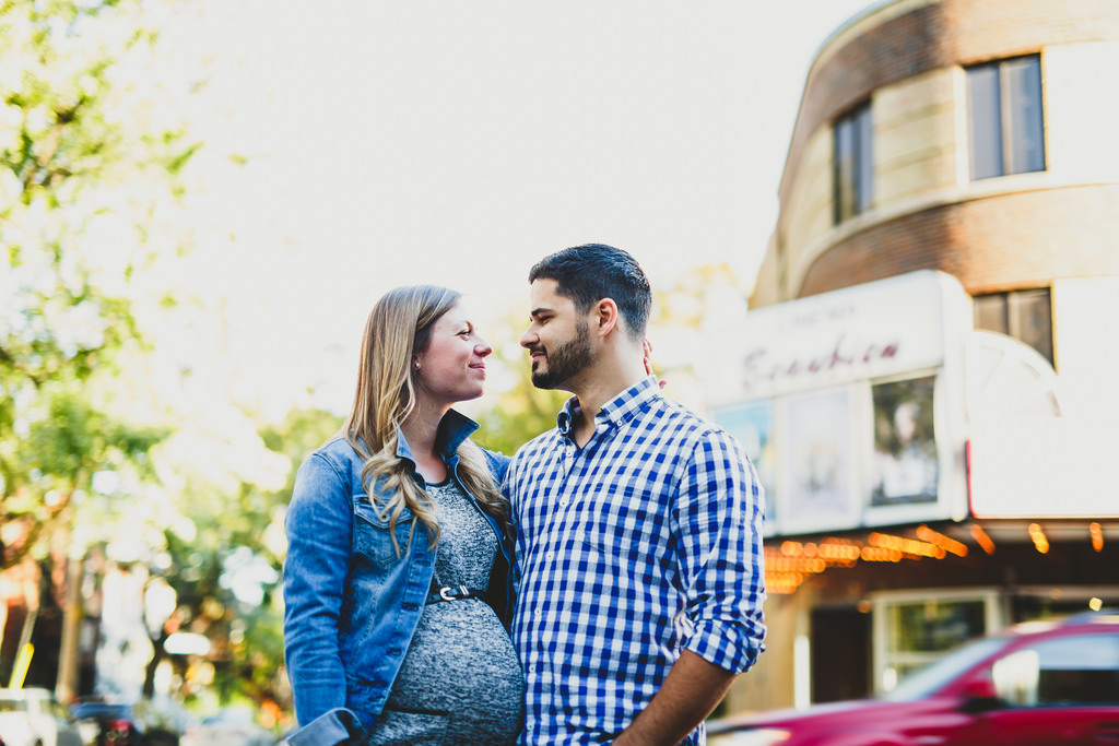 Pregnant Couple Intimate