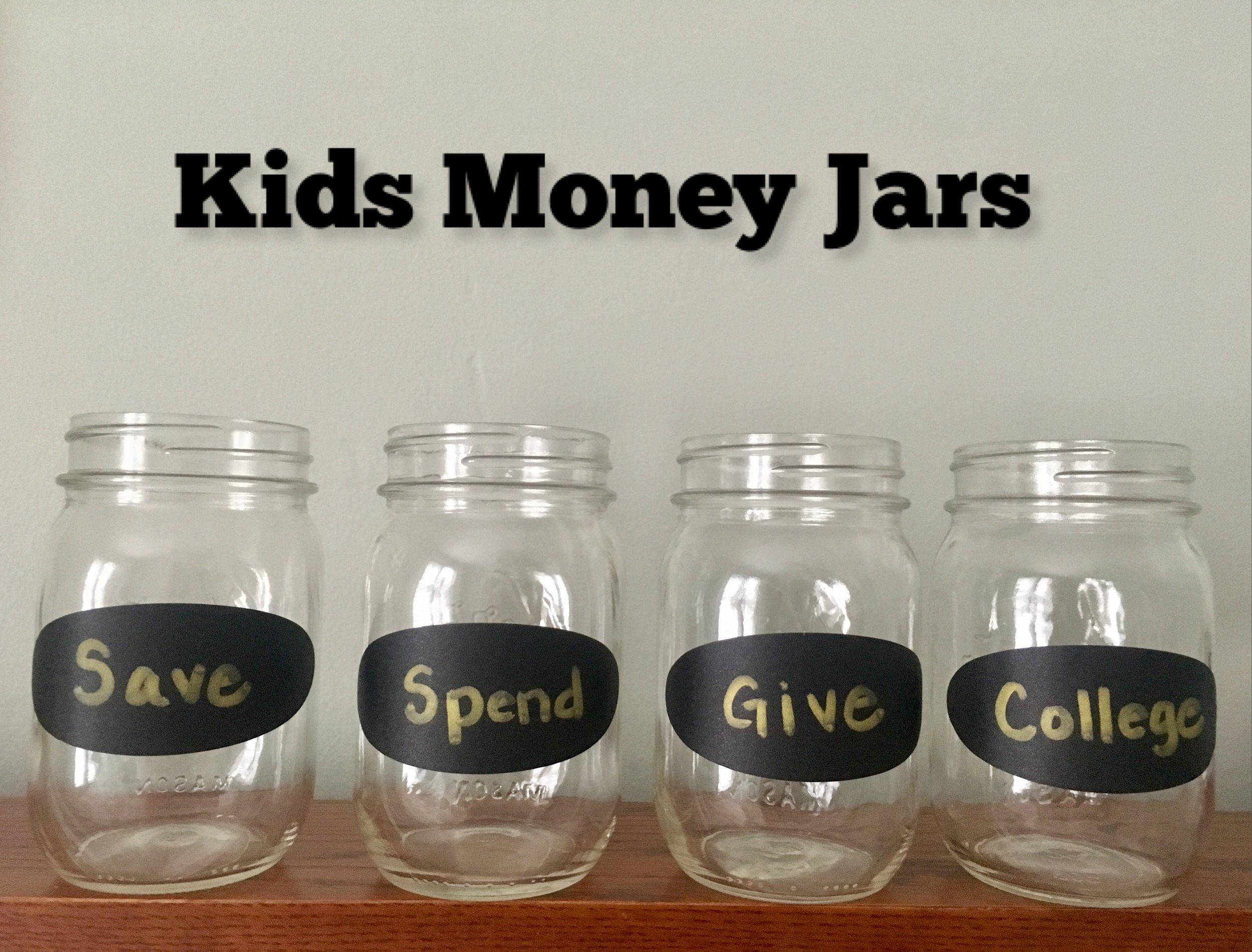Allowances Chores Money Jars How To Teach Kids To Manage Money