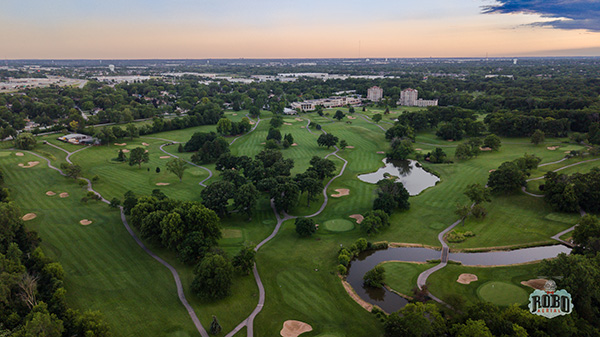eaglewood golf course aerial photo