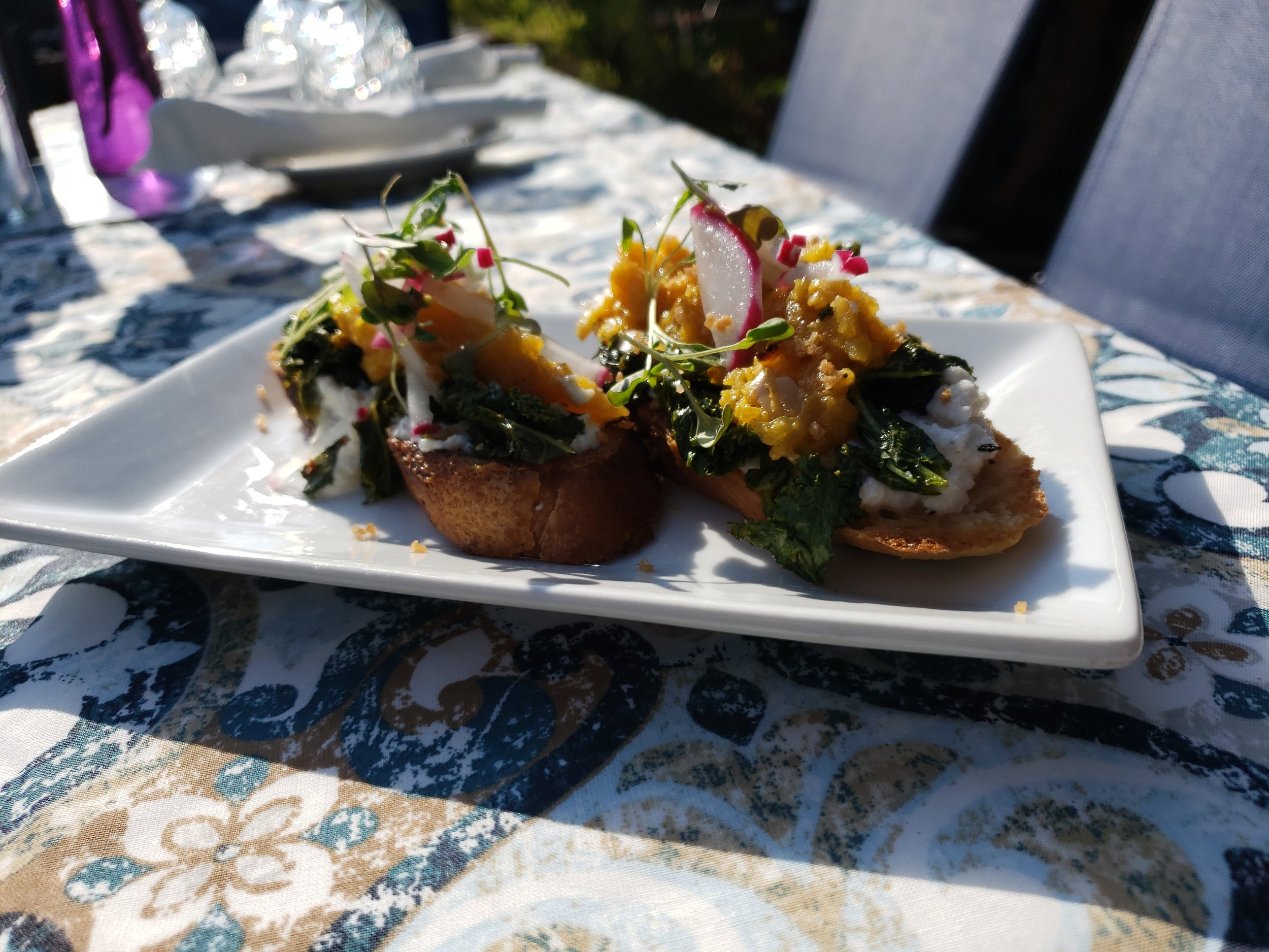 Past Special: Butternut Squash Crostinis