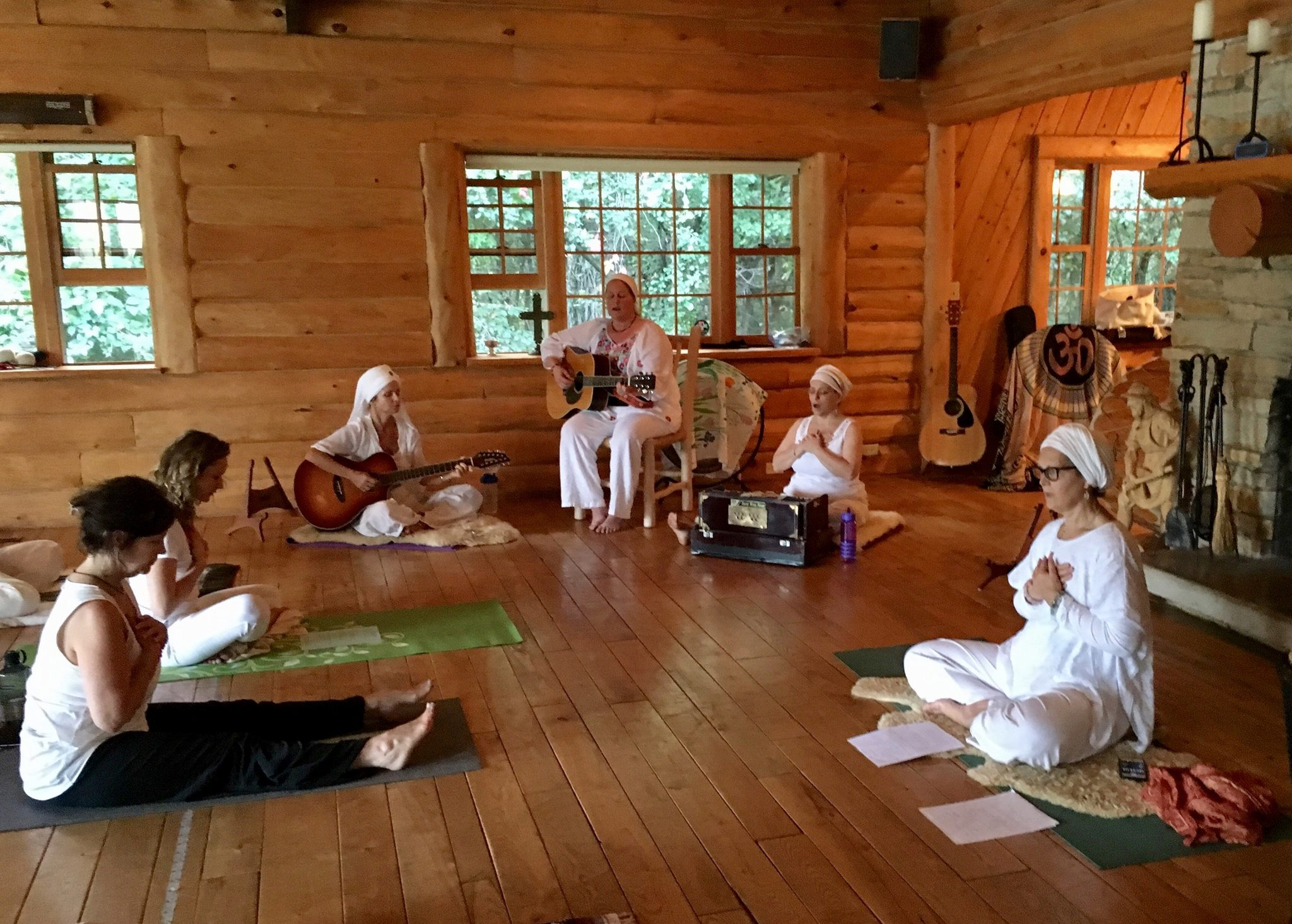 Ajeetpal Kaur leading Meditations with Preet .jpg