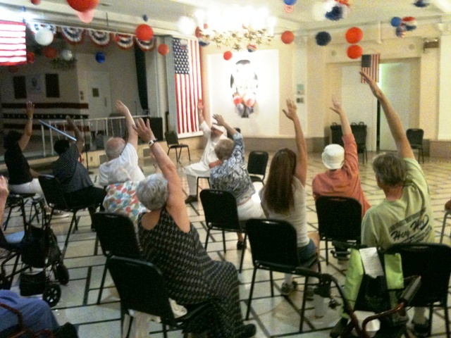 SSK Teaching Seniors at Oak PArk Arms 2012.jpg