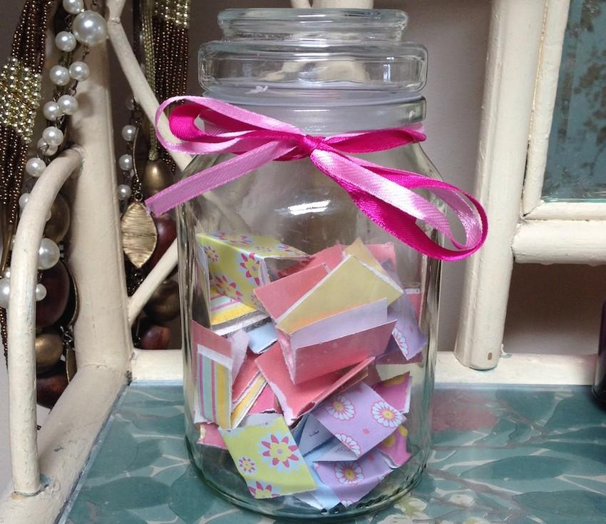 Cute Gratitude Jar