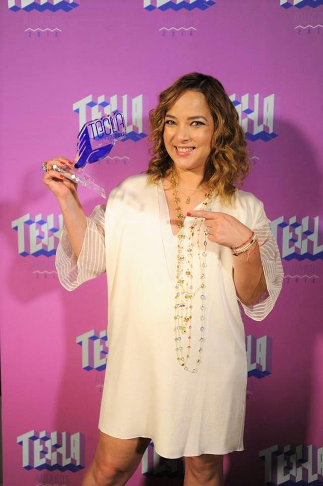 Tecla Awards 2016- Adamari Lopez