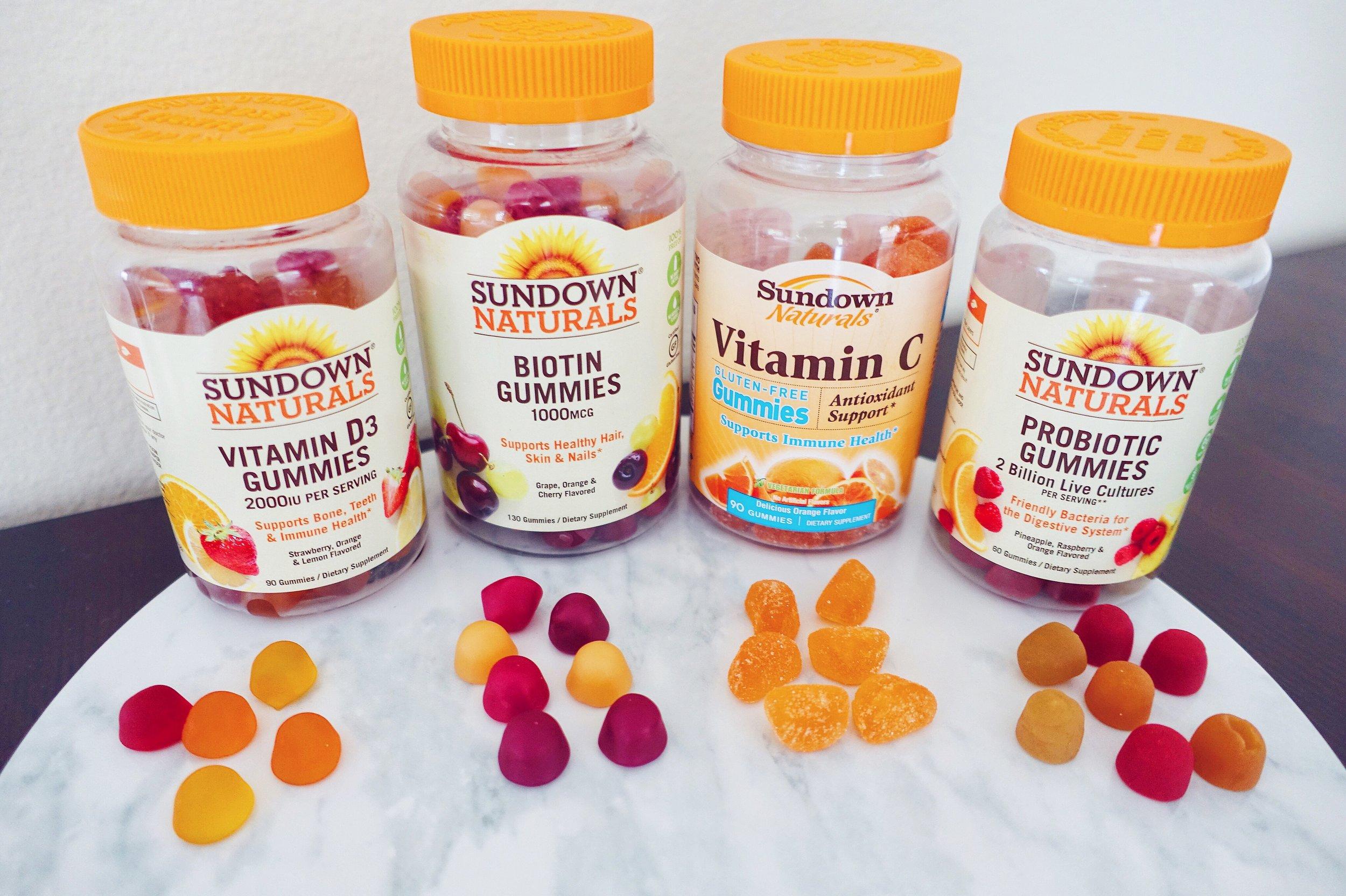 Sundown Naturals Adult Gummy Vitamins