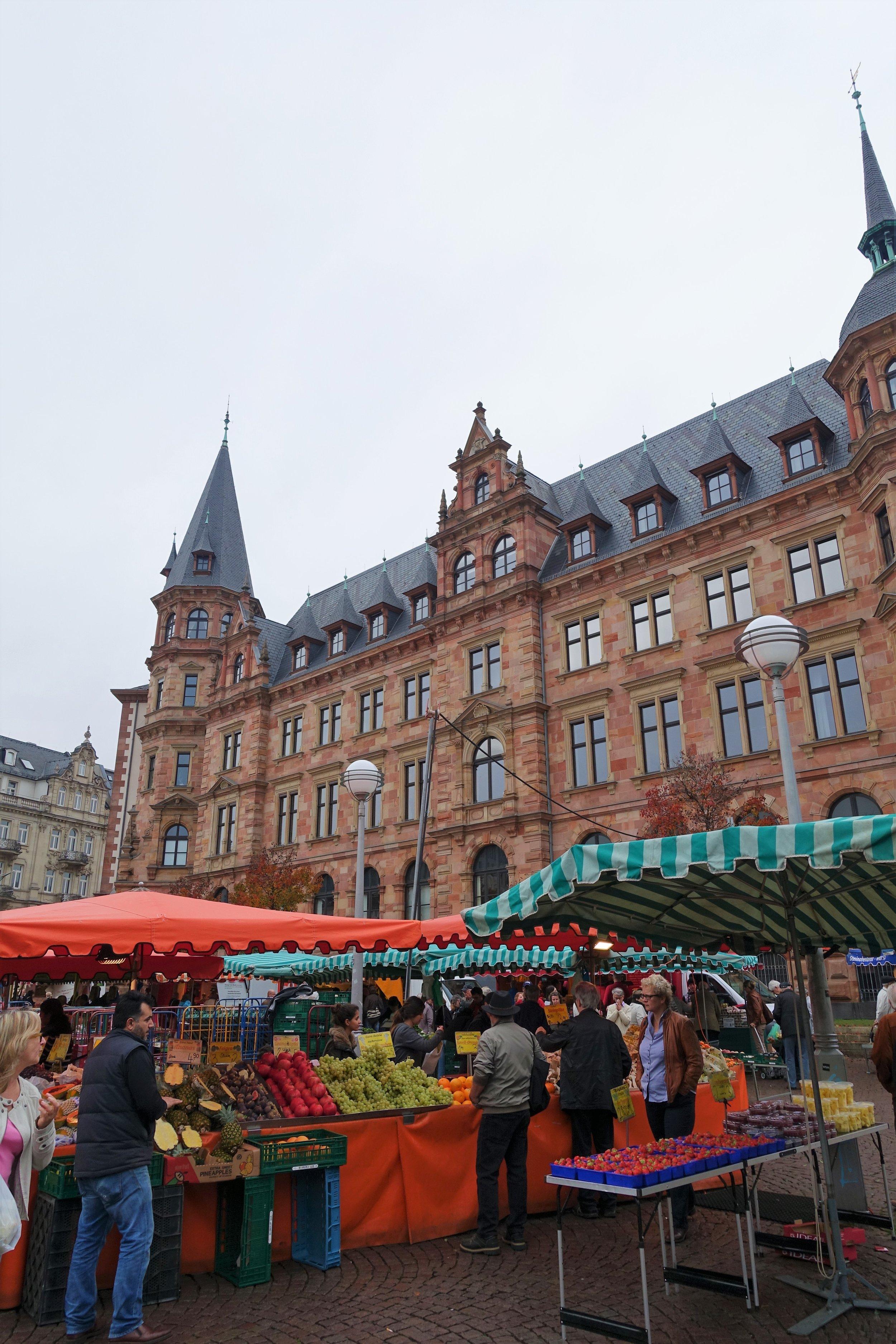 Farmer's Market- Wiesbaden