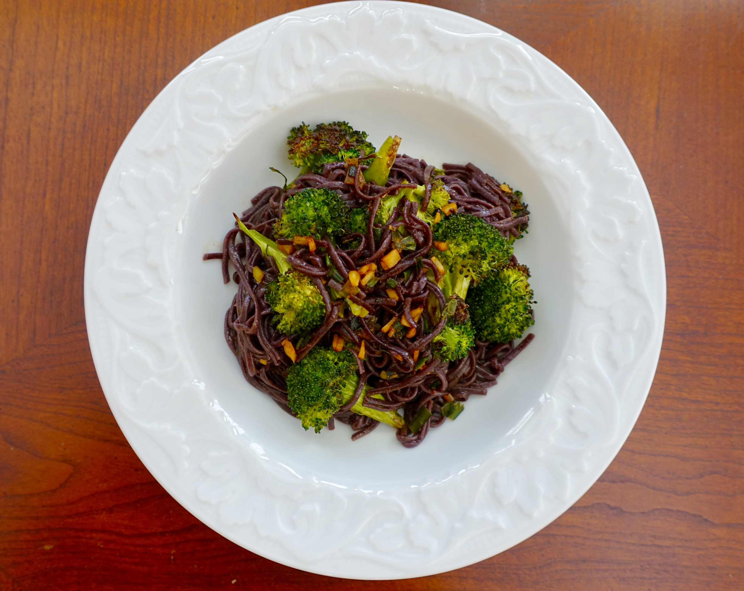 Blue Apron- Kung Pao Broccoli