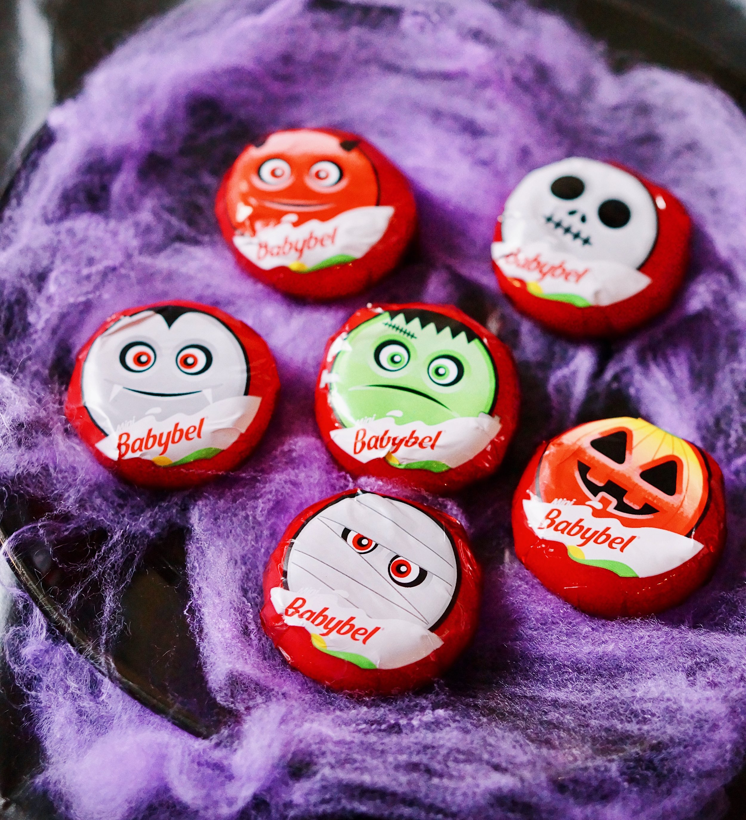 Halloween Themed Babybel cheese