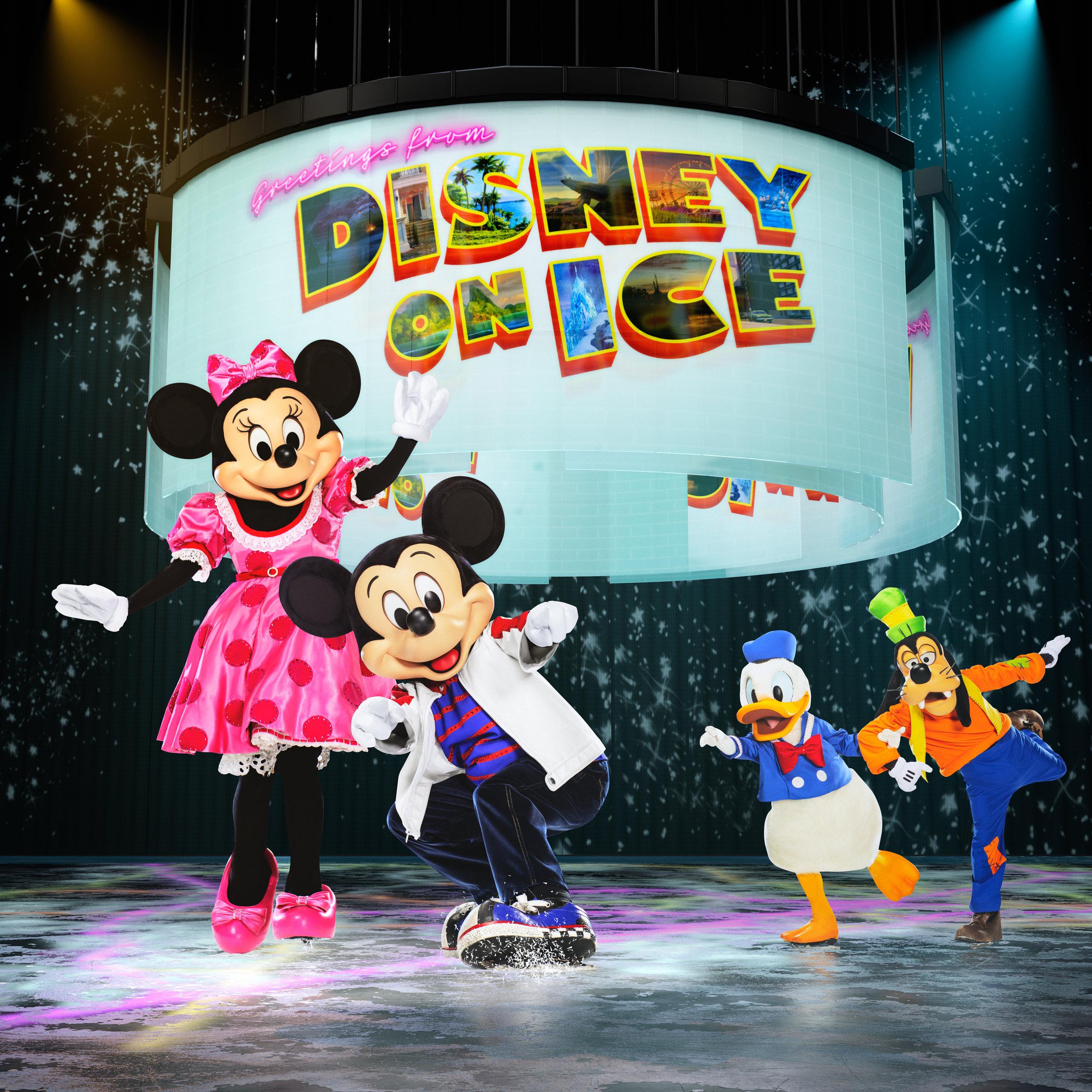 Disney On Ice- Road trip Adventures