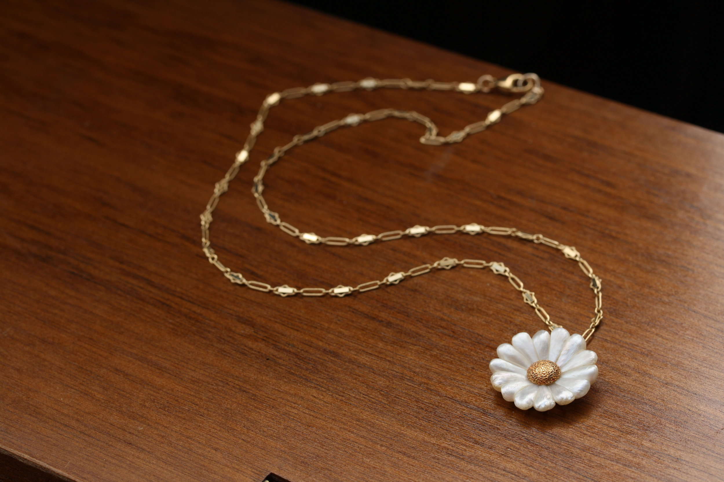 VCON Victorian Daisy Pendant on Vintage Inspired Chain_15 copy.JPG