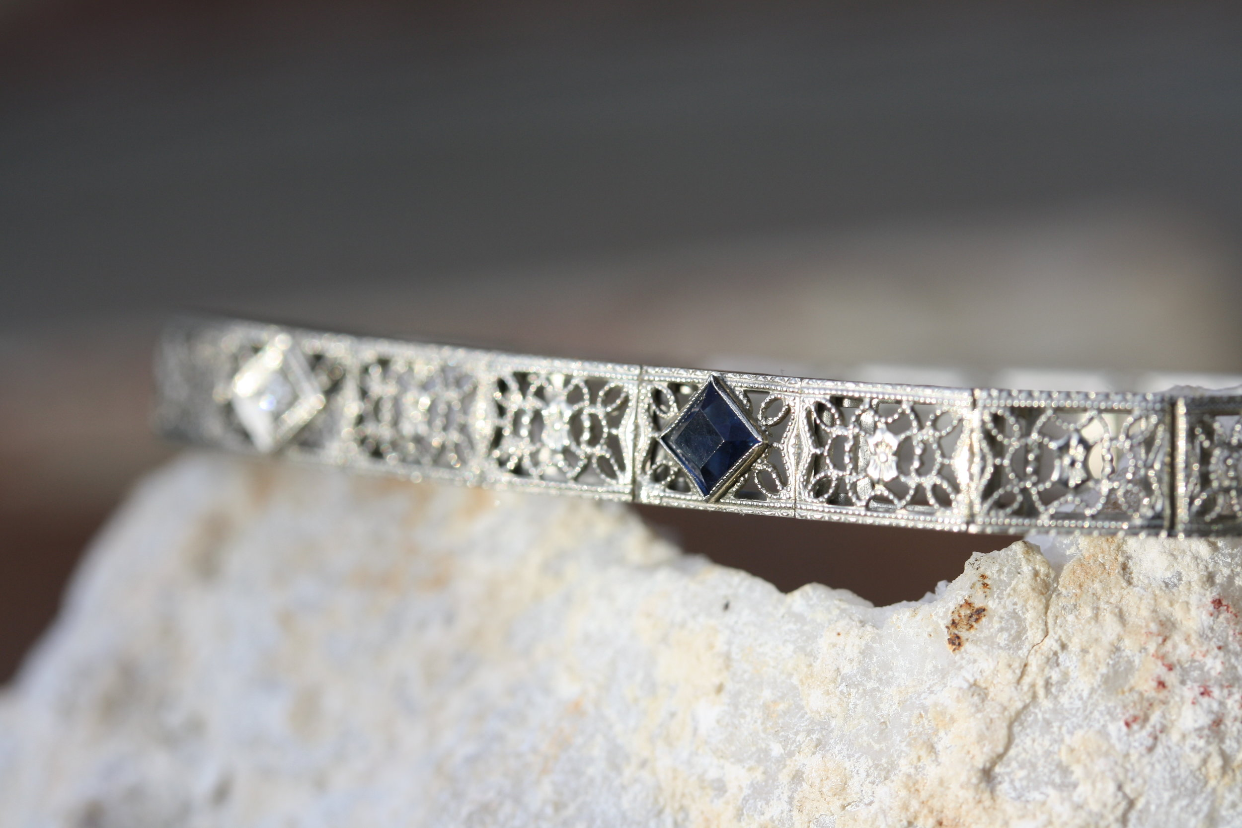 Estate Bracelet Filligree Sapphire Diamonds_15 copy.JPG