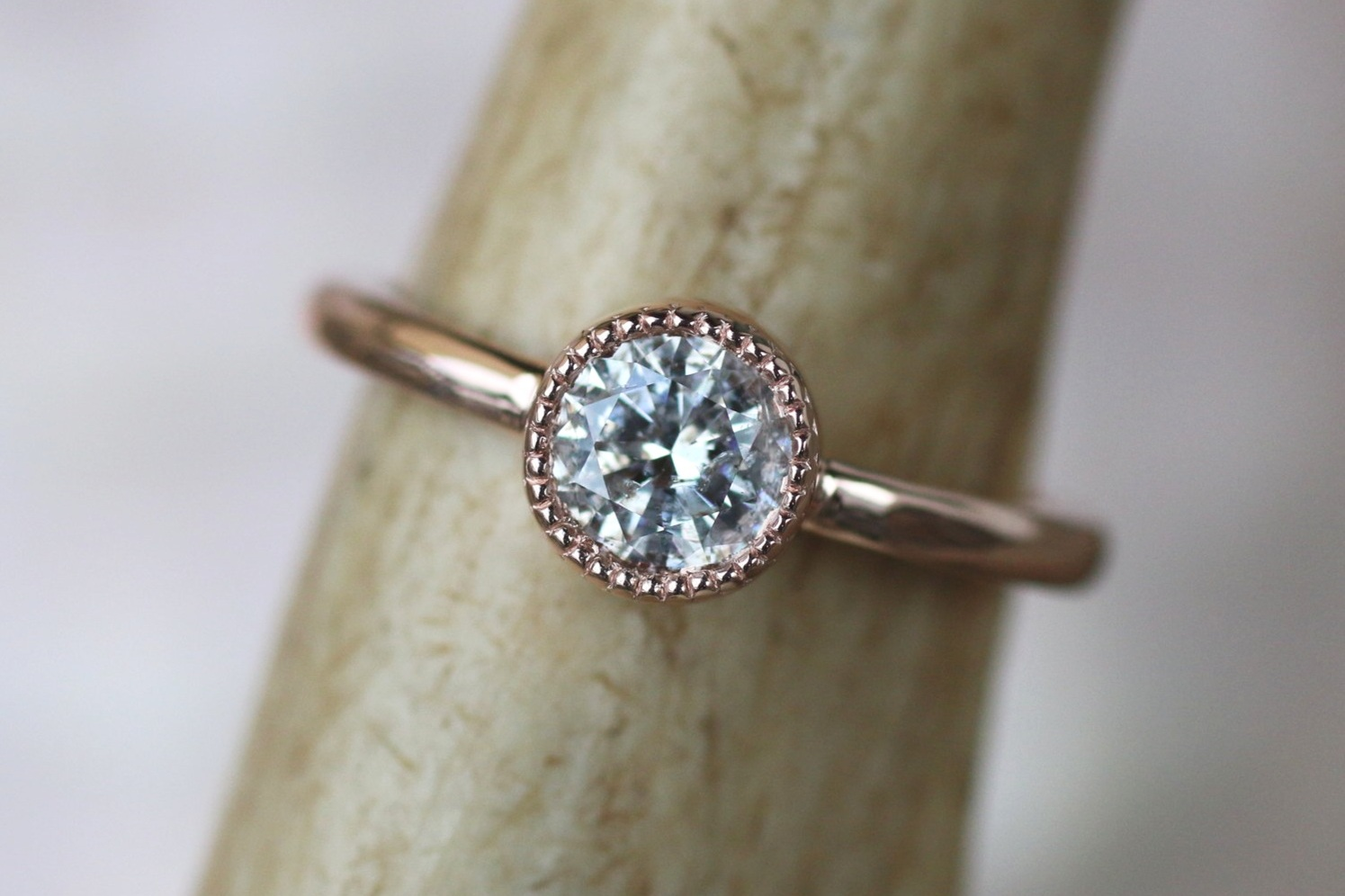 14k Rose Gold Millsgrain Bezel Ring-2.JPG