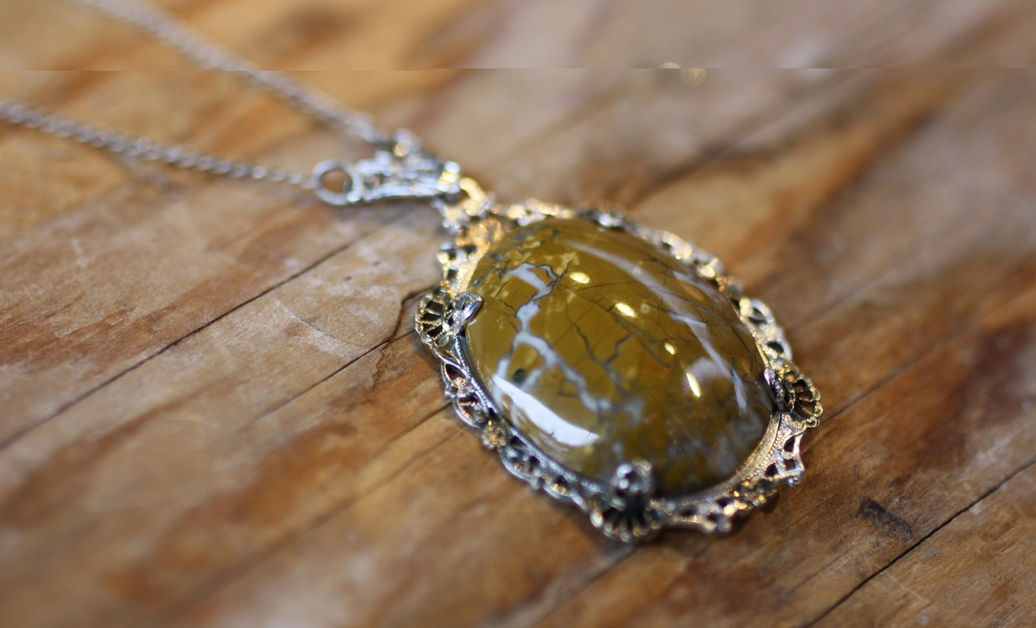 Oval+Agate+SS+Filligree+SS+Chain+Vintage+Necklace_01.jpg