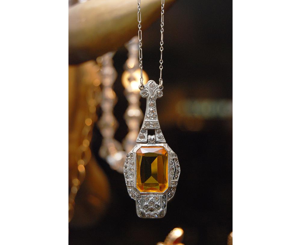 Orange+Rectangle+Stone+Marquesite+SS+Pendant+Vintage+Necklace_15.jpg