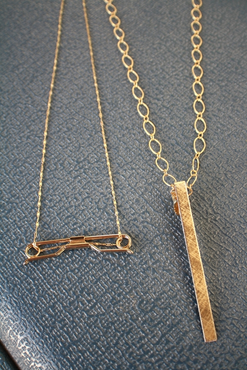 Jim+Galante+reinvent+fathers+old+tie+clip_pin+to+necklace+on+14kt+yellow+gold+&+gold+filled+open+chain_08.jpg