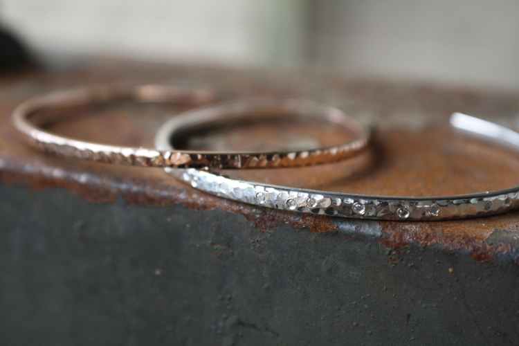 Laura+Cerqua+Custom+Hammered+Sterling+Silver+and+Rose+Gold+CUffs_50.jpg