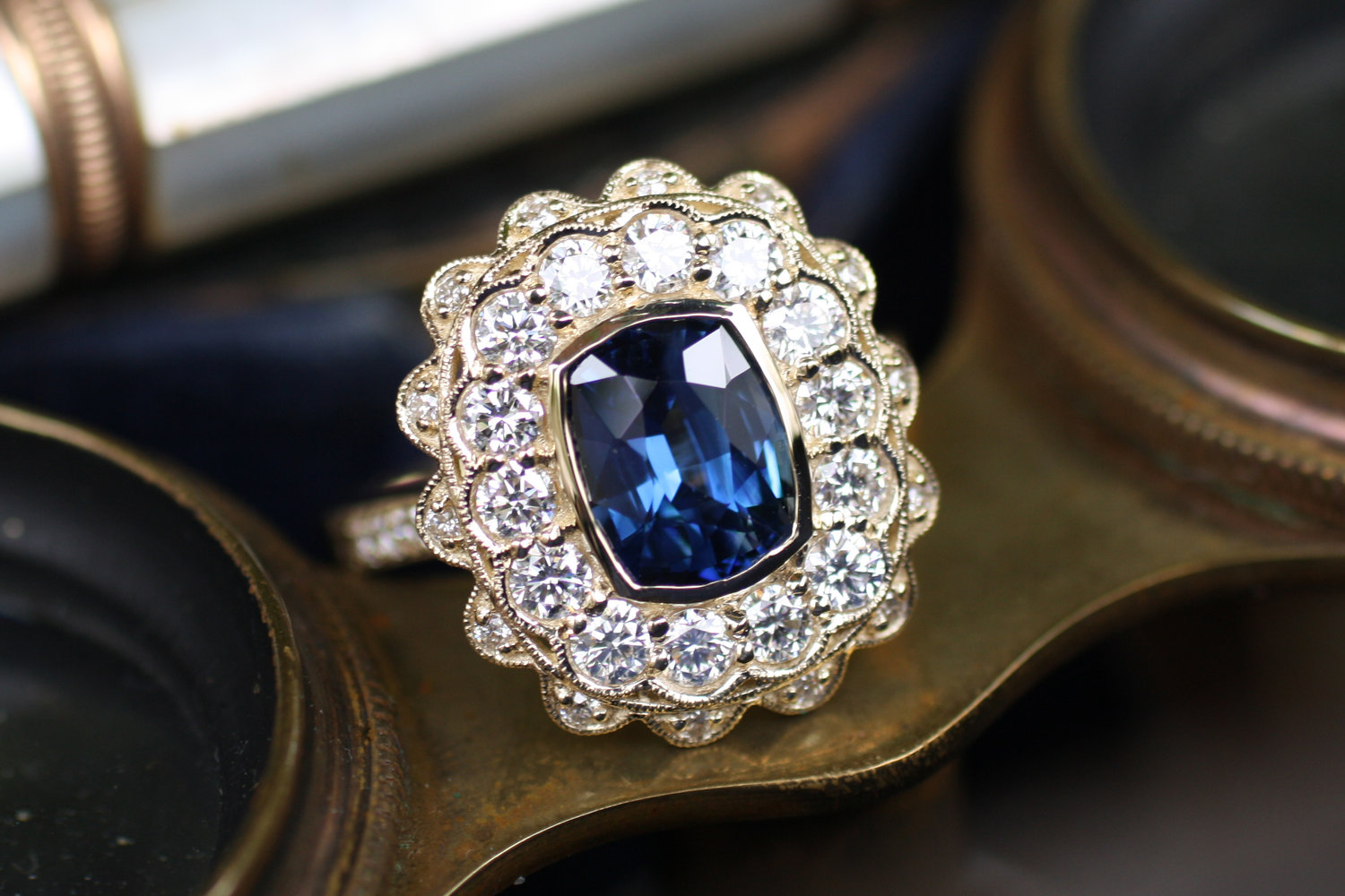 Blue+Sapphire+w+Large+Double+Diamond+Halo+YG+WG+Ring_22.jpg