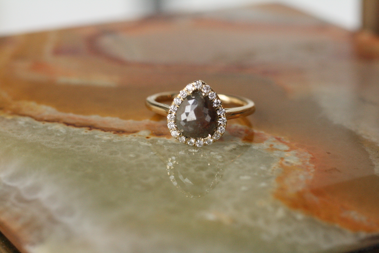 Grey+Pear+Diamond+w+Pave+Diamond+Halo+YG+Engagement+Ring_08.jpg